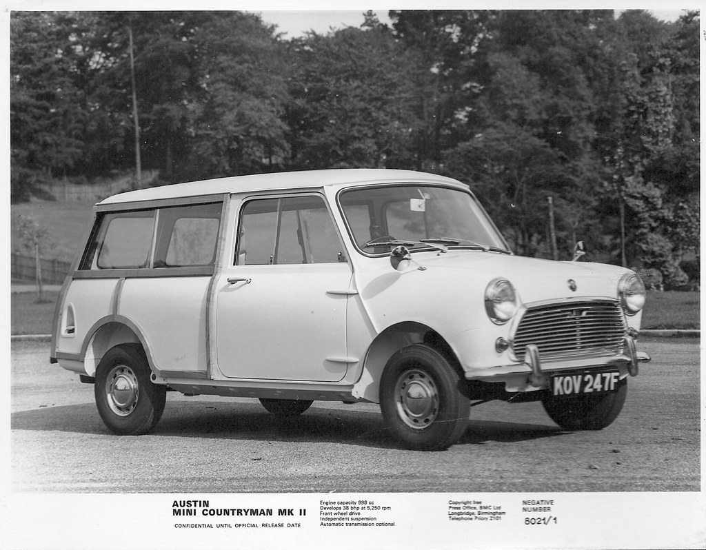 1968 austin mini countryman mk ii this is an official conf flickr. Black Bedroom Furniture Sets. Home Design Ideas