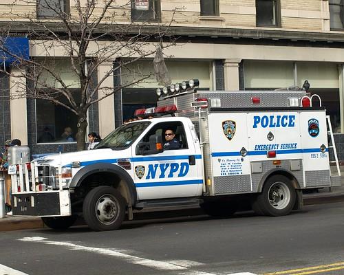 Pcar Nypd Ess Emergency Service Squad Police Truck New Yo