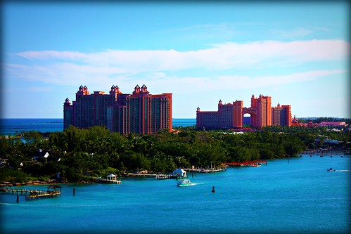 Atlantis Resort From Freedom Of The Seas Jogging Track