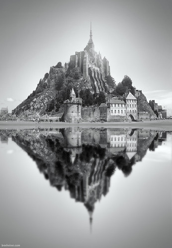 mont saint michel 2 ben heine facebook twitter. Black Bedroom Furniture Sets. Home Design Ideas