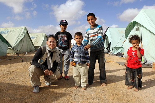 UNHCR News Story: Q&A: UN Volunteer helps needy Libyan Berbers in Tunisian camp | by UNHCR