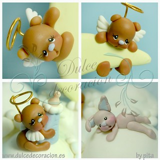Baby bear / Ositos bebe | by Dulce decoración (modelado - tartas decoradas)