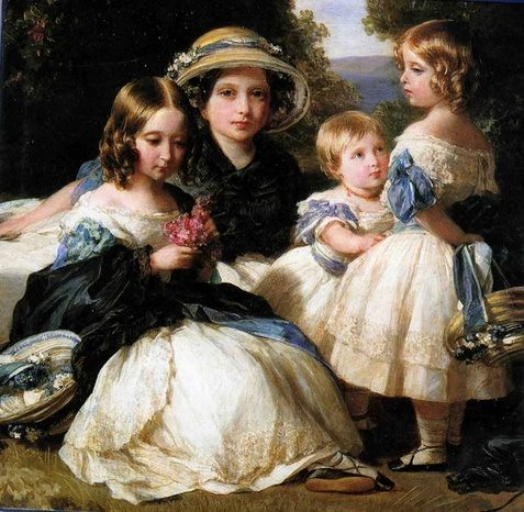 Queen Victoria's Daughters by Winterhalter | by princesslaundry