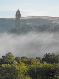 Early morning mist by the Wallace Monument | by shotlandka