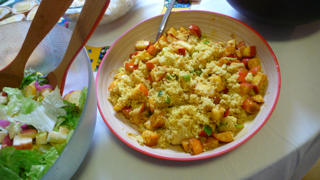 curried apple couscous. | katie hargrave | Flickr