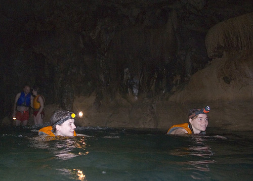 Blue creek cave belize interior swimming for Blue creek fishing report