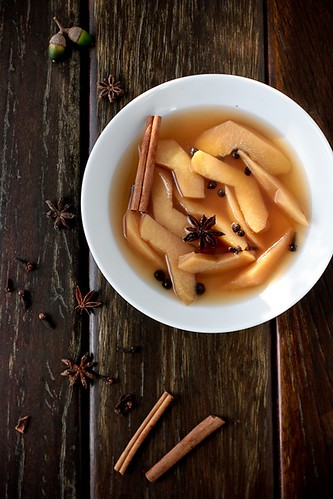 Spiced Poached Quince | by tartelette