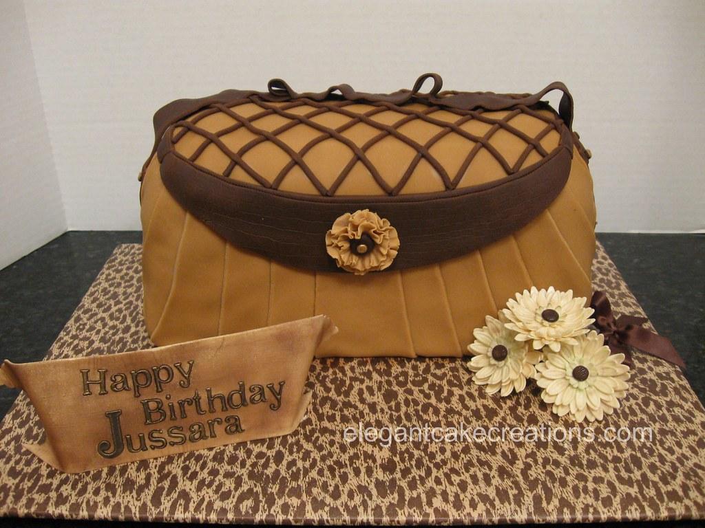 Pleated Purse Cake