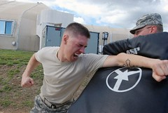 Guardsmen receive pepper spray training at Gitmo | by The National Guard