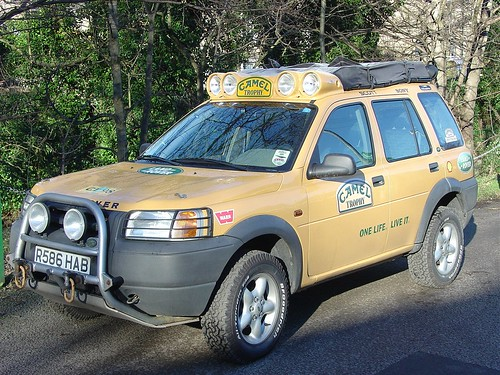 R586 Hab 1998 Camel Trophy Land Rover Freelander Flickr