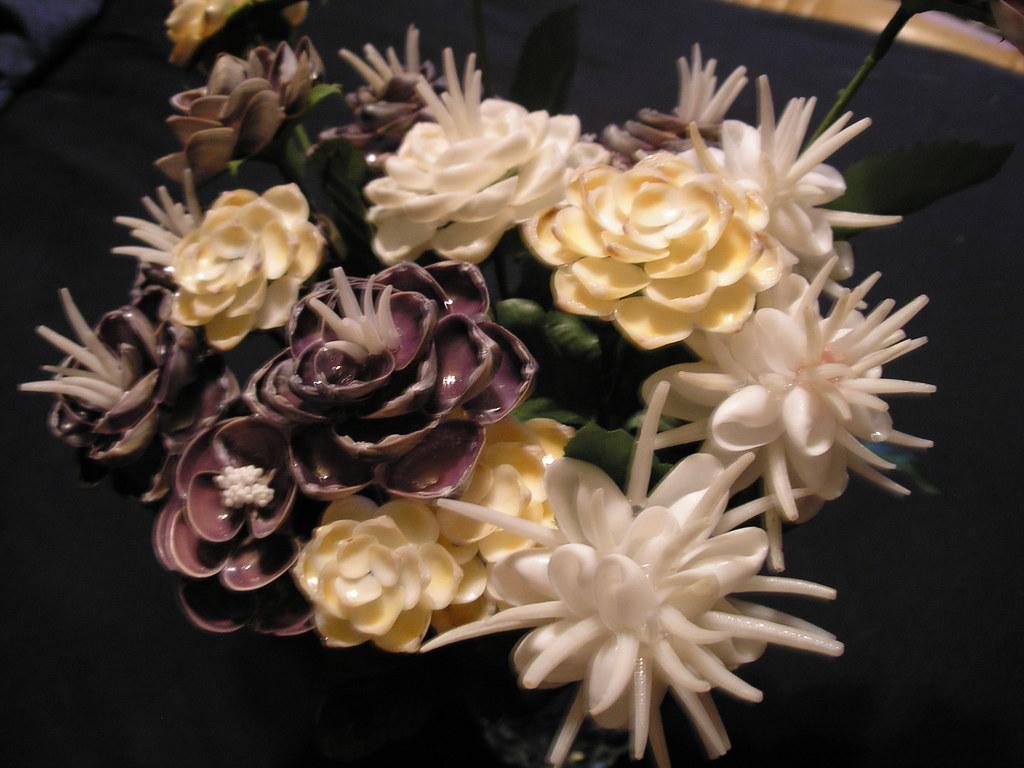 Seashell Flowers Assorted Elizabeth Schmiedel Flickr