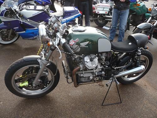 Honda cx 500 caf racer salon moto l gende 2009 flickr for Salon moto nice