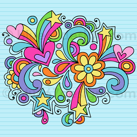Hand Drawn Abstract Notebook Doodle Vector Illustration B Flickr