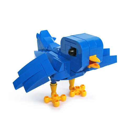 Lego Ollie the Twitterrific bird | by Fredoichi