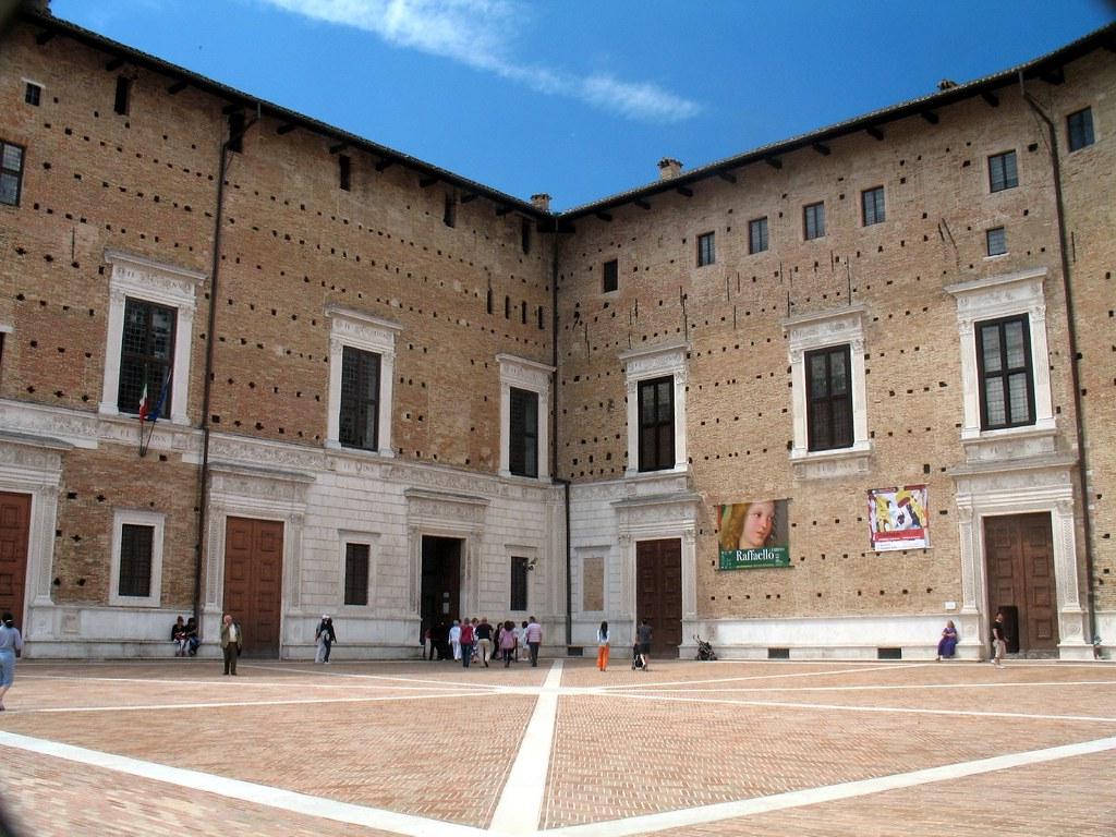 Urbino palazzo ducale la costruzione di questo for Piano di costruzione dell edificio