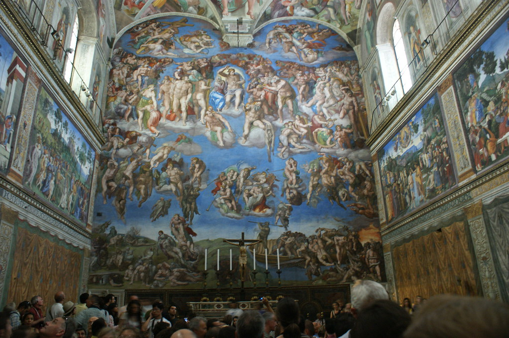 Michelangelo's Last Judgment | It is the most famous part ...