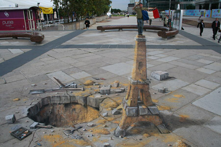 Amazing 3D Sidewalk Chalk Art 6 | by dwightgenius