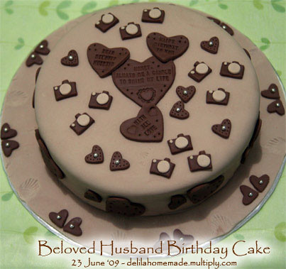 Beloved Husband Birthday Cake Raras Atletiko Flickr