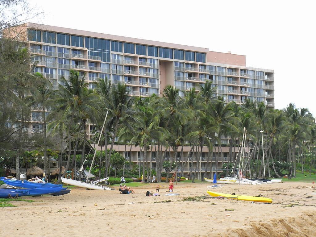 Kauai Marriott Resort Beach Club Rice Street Kauai Hi