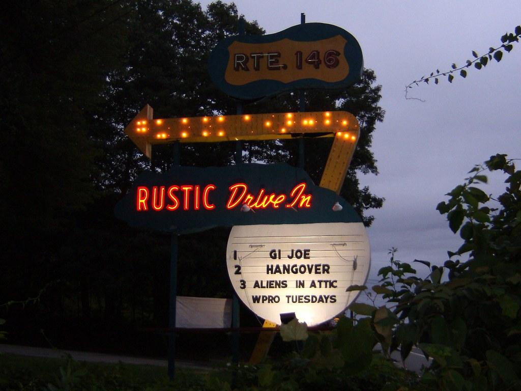 rustic drive-in theater | north smithfield, ri | ron | flickr