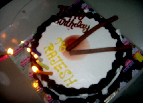 Birthday Cake Images With Name Sapna : Birthday Cake of Rajesh Rana(My) Image is out of Focus ...