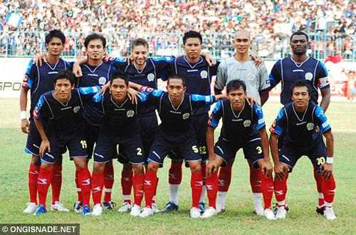 Arema Vs Indonesia: Arema Vs Persija, Liga Super Indonesia 2009/10, 11 Oktober