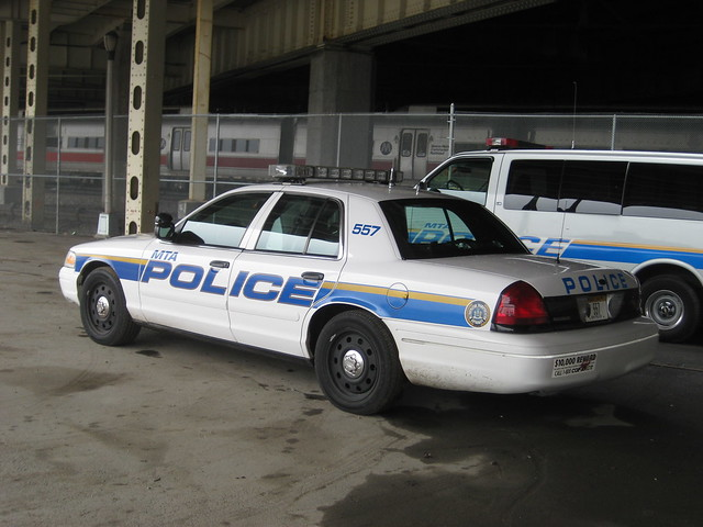 mta police car at yankee stadium by zamboni man flickr photo sharing. Black Bedroom Furniture Sets. Home Design Ideas