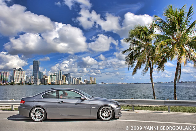 BMW 335i E92 Space Grey Linea Corse Dyna Key Biscayne Miam… | Flickr