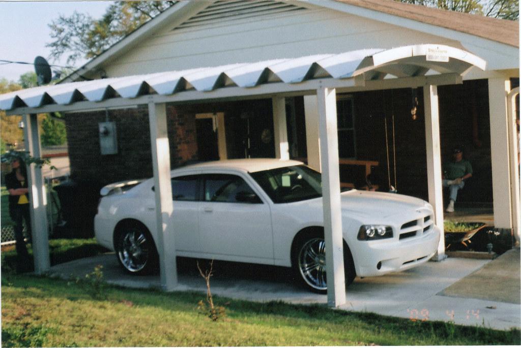 Steelmaster One Car Carport Steel One Car Carport 10