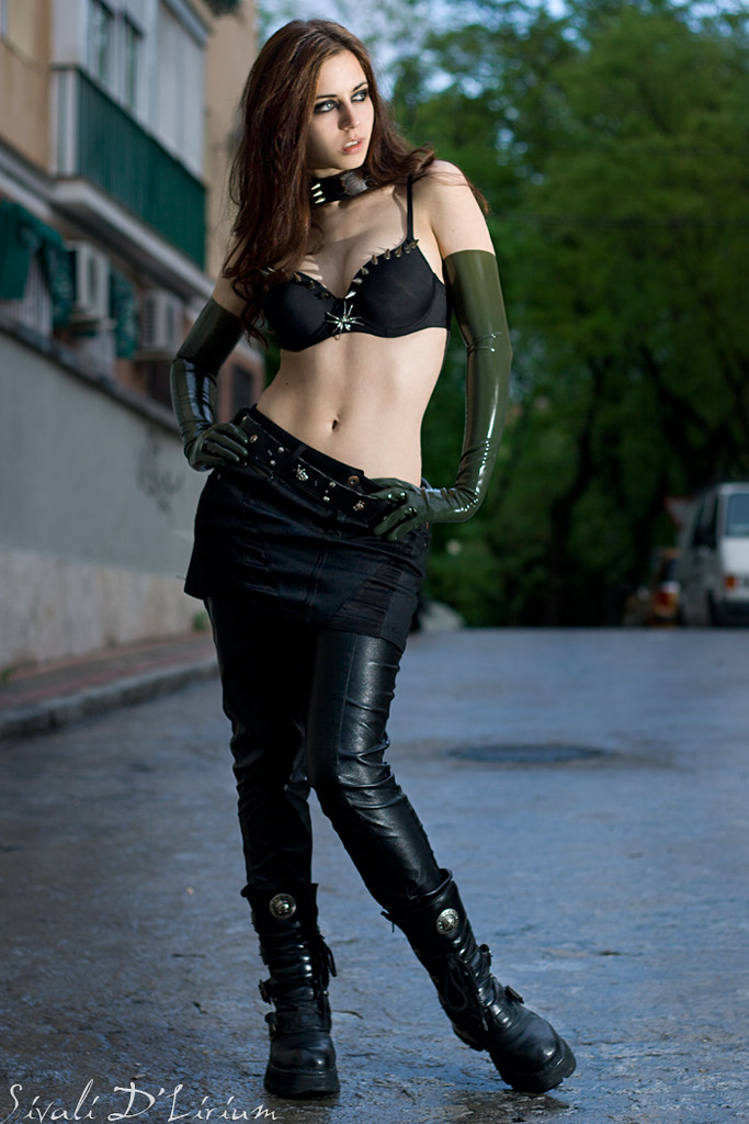 Latex and Street | Pic... Keira Knightley