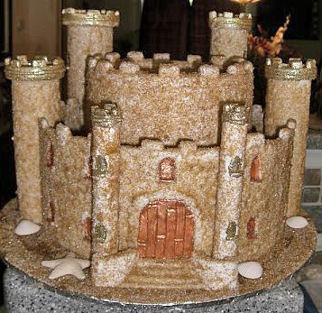 Sandcastle Wedding Cake Cakehobbyist Flickr