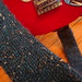 Pattern: Cast On, Rock Out: Guitar Strap Sock