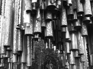 Sibelius Pipes, Helsinki, Finland | by tixie21