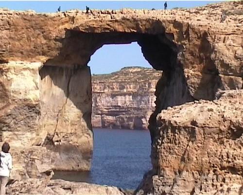 Malta isola di gozo la finestra azzurra angelo miceli flickr - La finestra azzurra gozo ...