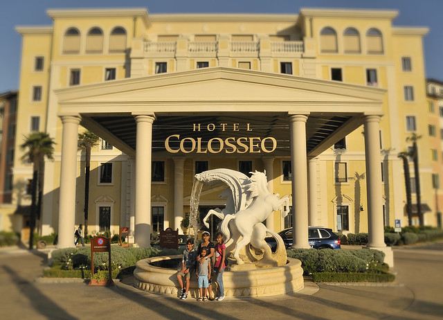 Colosseo Hotel Colosseo Im Europapark Frama Photo Flickr