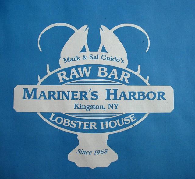 lobster fest | Lobster on the logo of Mariner's Harbor, Raw … | Flickr