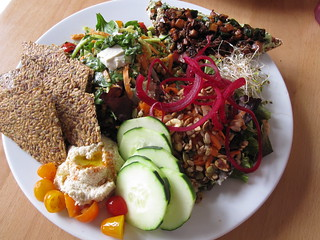 Live Sampler Plate | by veganbackpacker