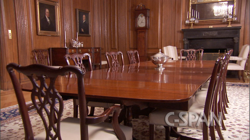 Justices 39 dining room the supreme court home to america for Dining room c house of commons