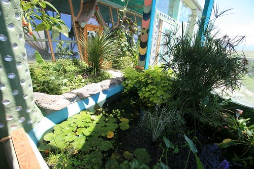 Phoenix Earthship Pond And Greenhouse Kirsten
