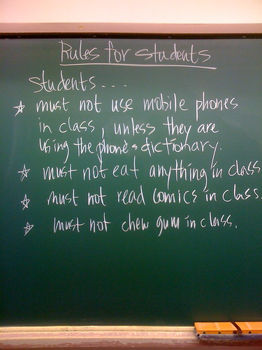 L&S Rules for Students 1 | by mick62