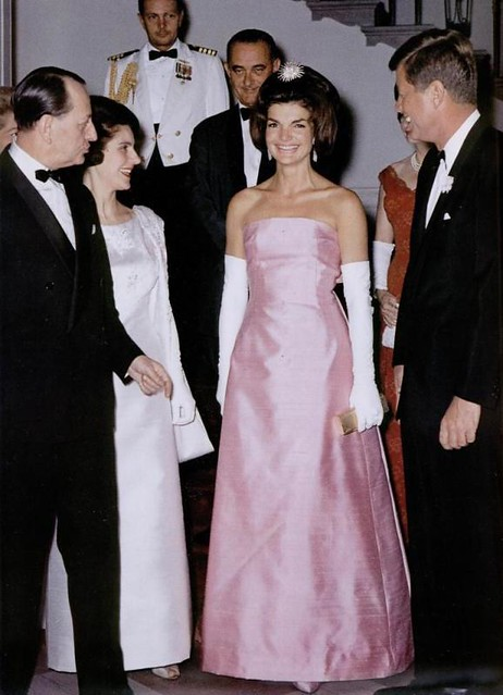 58 4 jackie kennedy pink evening dress natalia sheppard for Cocktail jacqueline