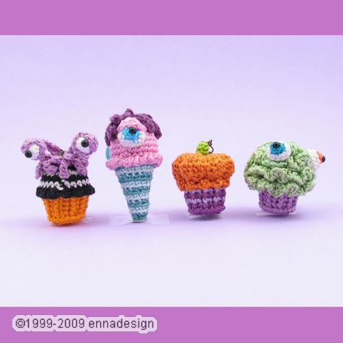 Amigurumi Monster Dessert new goodies at my Etsy shop ...