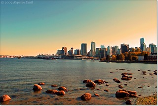 Vancouver. View on Downtown from Stanley Park / Ванкувер. Вид на Даунтаун из Стэнли Парка | by Emil Akberli