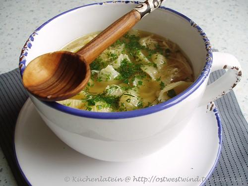 u00a9Hühnersuppe aus dem Slow Cooker Rezept kuechenlatein