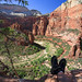 My feet in cool places: Zion National Park