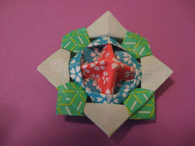 Origami Modular Spinning Top