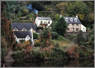 Smoking Chimney over the river wye..... | by reaspring