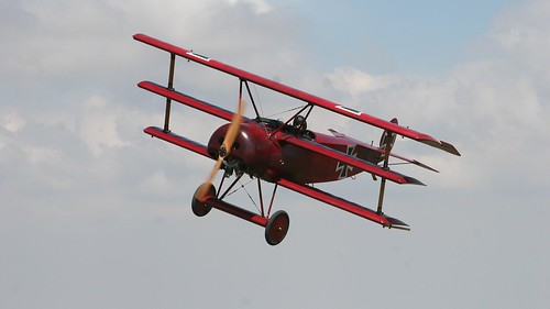 Fokker Dr.I Triplane - Photo by Biggles Biplane, 2009 | Flickr
