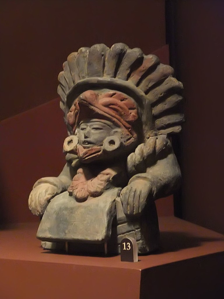 Ceramic Figure Zapotec 200 800 Ce Oaxaca State Mexico Flickr