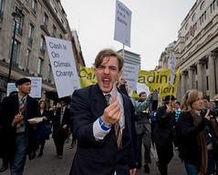 Climate bankers | by Camp for Climate Action UK